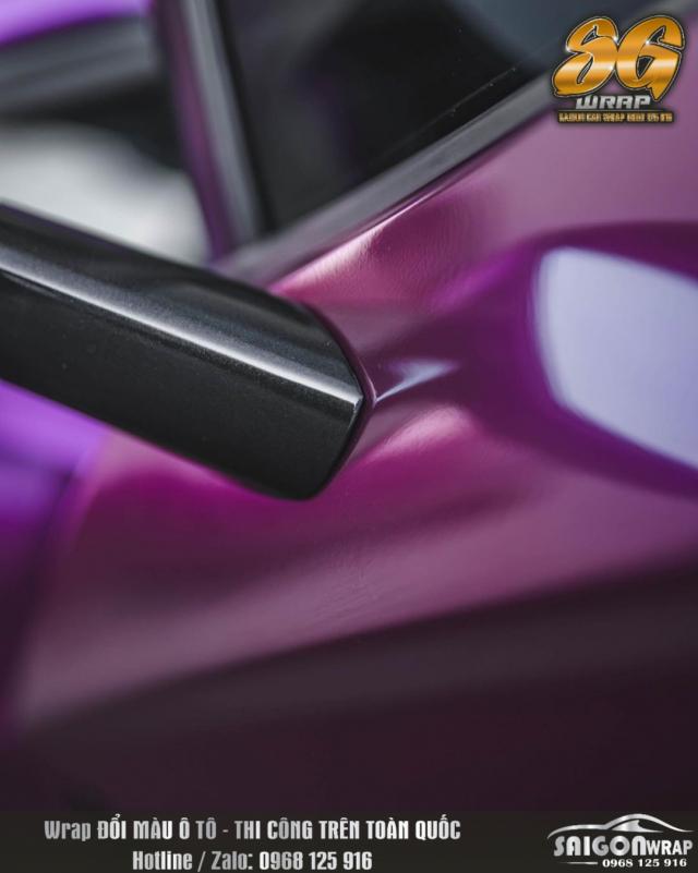 Lamborghini Do Dan Decal Mau Tim Sieu Man Ma SAIGON CAR WRAP - 3