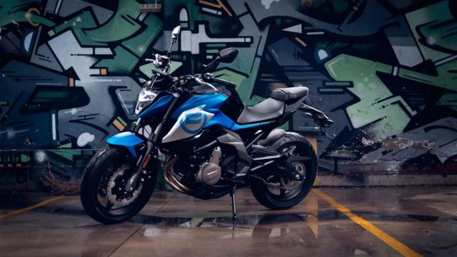 CFMoto 650NK SP Nakedbike tam trung phien ban cao cap vua ra mat - 5