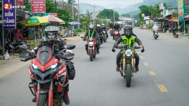 Toan canh hanh trinh Ducati Dream Tour Sai Gon Bao Loc