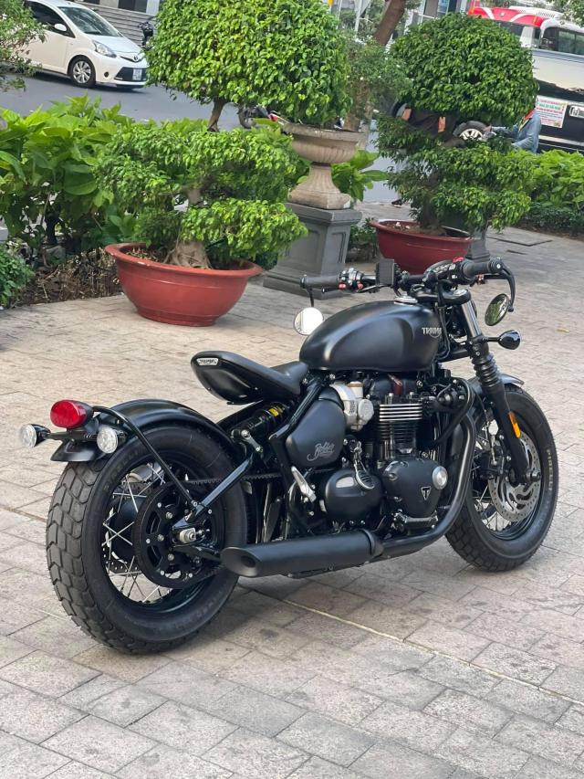 Triumph BOBBER BLACK 2018 Xe Moi Dep - 5