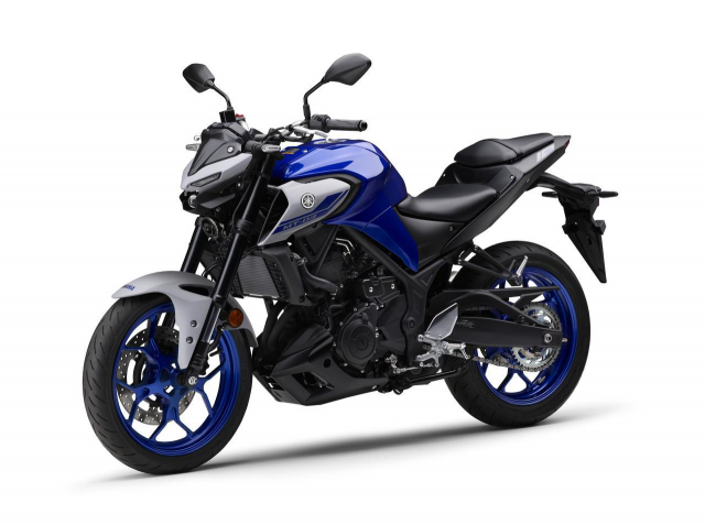 Yamaha Nhat Ban phat hanh phien ban moi MT25 MT03 2021 - 11