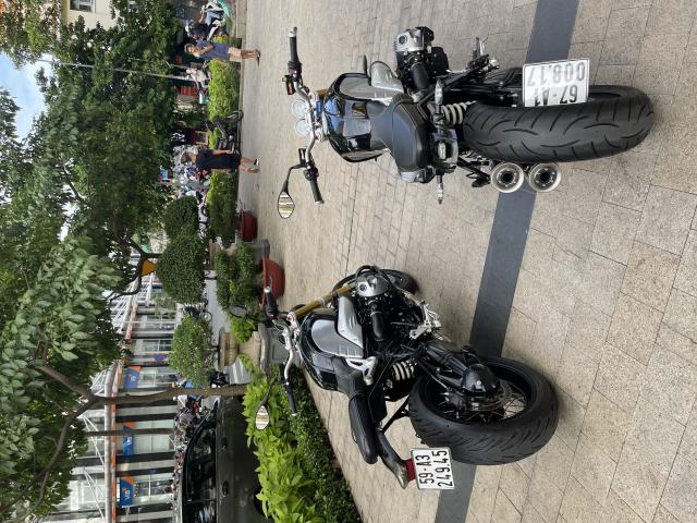 _ Moi ve 2 Xe BMW R NineT ABS R9T Fom moi HQCN Dang ky 2018 2019 chinh chu odo 7300km - 2