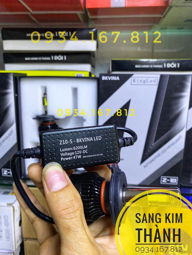 Den Pha Led King Led Z10S Chinh Hang - 4