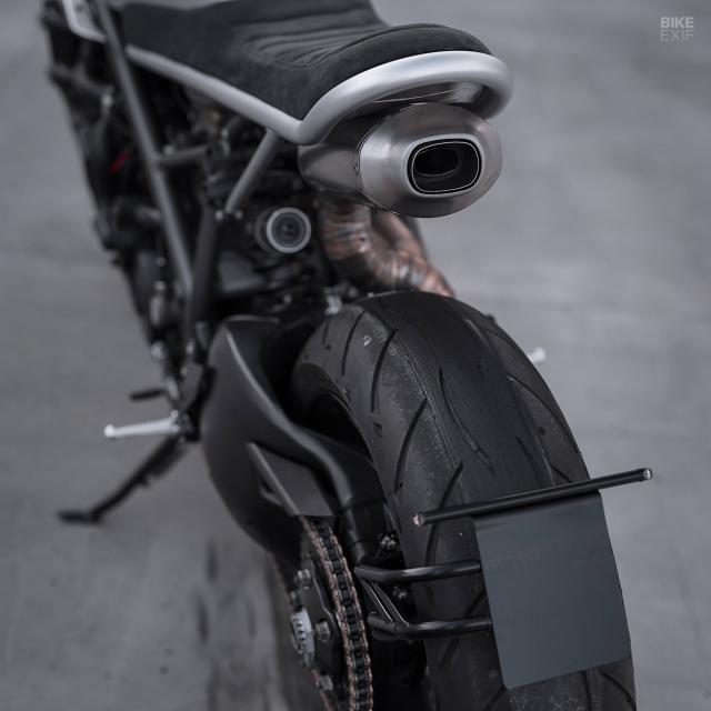 DUCATI 848 EVO CAFE RACER CUA MOTOCREW - 7