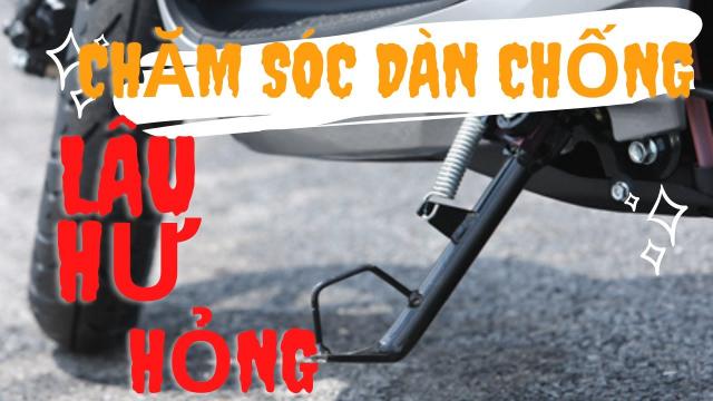 DUNG JUPITER CACH CHAM SOC DAN CHAN CHONG GAC CHAN CHO XE MAY KHONG CON HU HONG