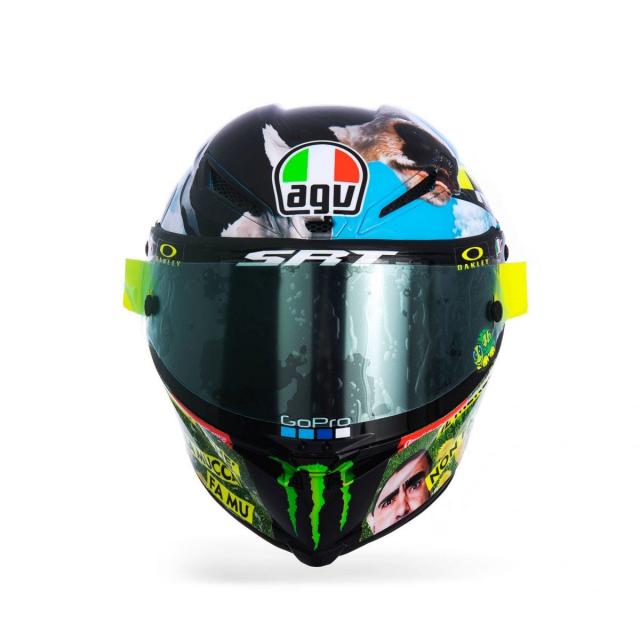 Ra mat phien ban mu bao hiem doc quyen danh cho Valentino Rossi 2021 - 15
