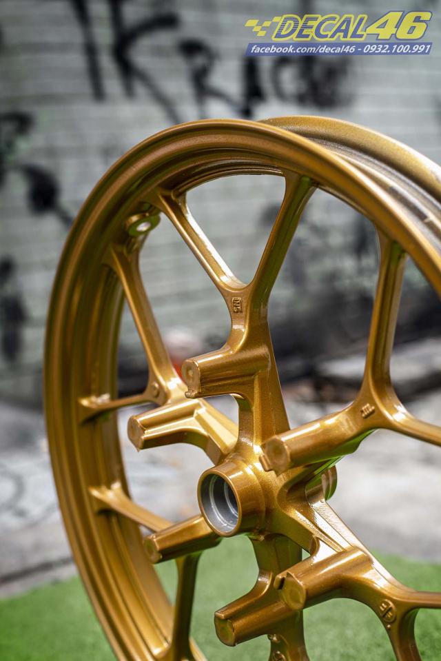 Son tinh dien mam xe may cho Winner X 150 do Decal46 thuc hien - 6