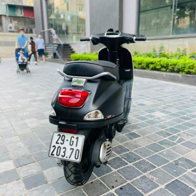 Vespa S125ie mau den san may moc nguyen ban Chinh chu viet giay Zalo 0816796969 - 6