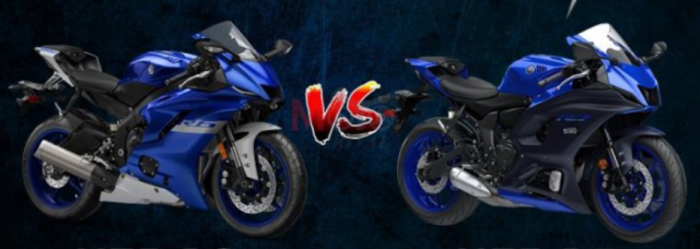 Yamaha R7 va Yamaha R6 tren ban can thong so