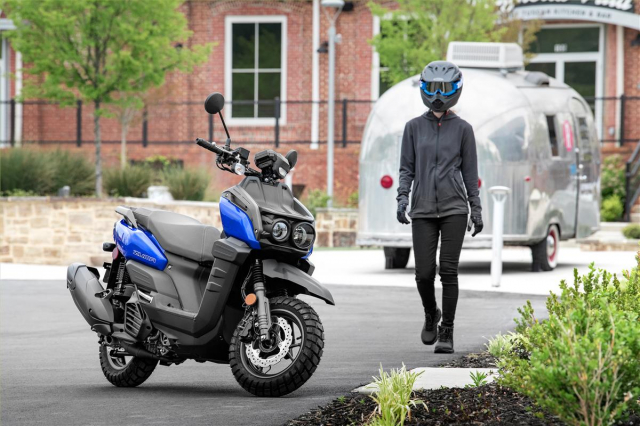 Yamaha Zuma 125 2022 Sieu pham danh rieng cho anh em thich hang doc - 23