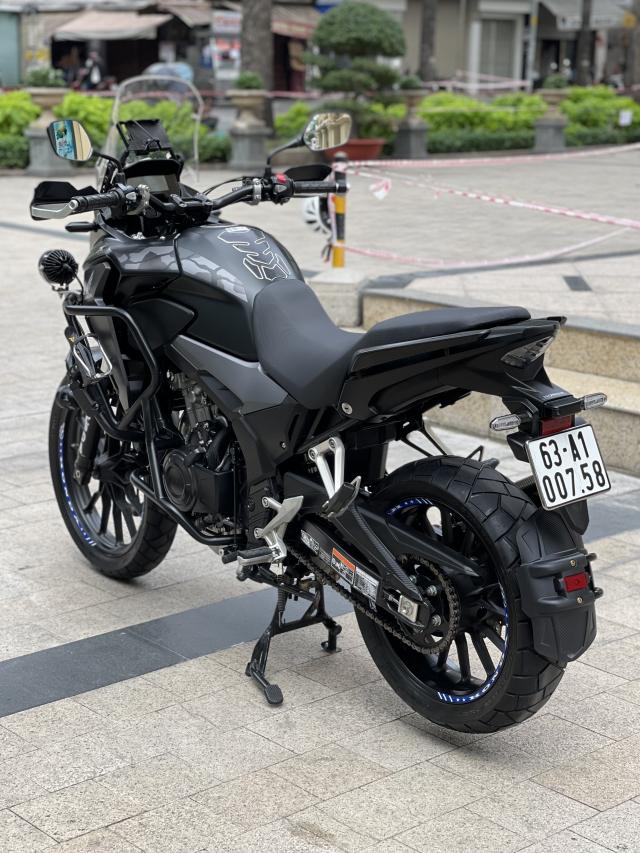 _ Moi ve xe HONDA CB500X ABS odo 11500 km HQCN Dang ky 92019 chinh chu xe dep may zin - 2