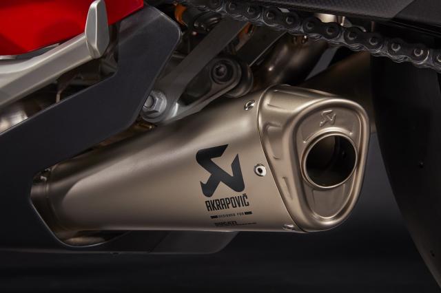 Ducati Panigale V4 2021 duoc trang bi goi phu kien Performance Accessories - 7