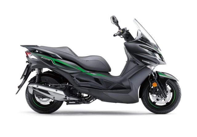 Kawasaki J125 xe tay ga 125cc co gia ban khoang 137 trieu Dong - 14