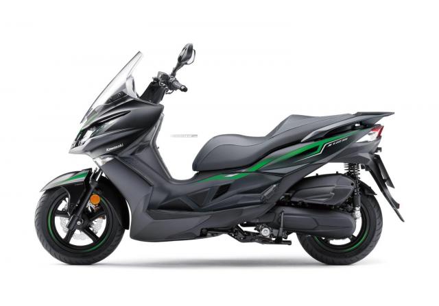 Kawasaki J125 xe tay ga 125cc co gia ban khoang 137 trieu Dong - 15