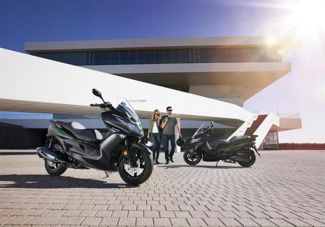 Kawasaki J125 xe tay ga 125cc co gia ban khoang 137 trieu Dong - 25
