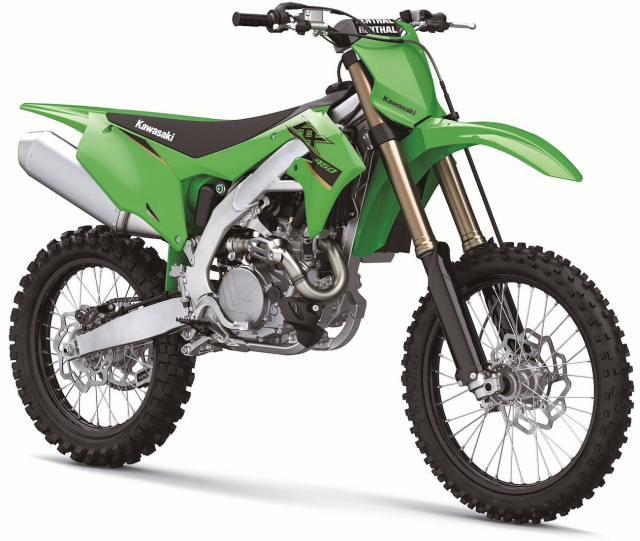 Kawasaki KX450 2022 trinh lang dong co da duoc dai tu hoan toan - 3