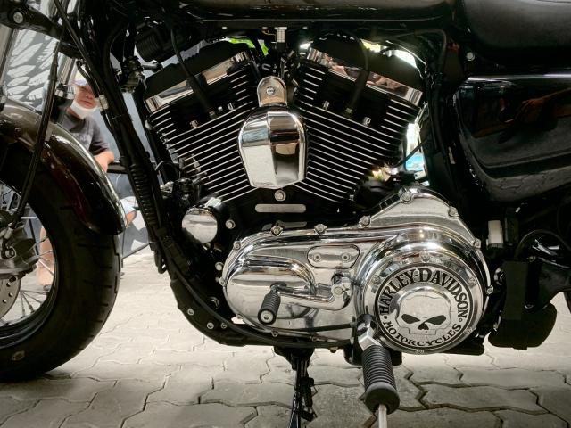 Len san HarleyDavidson 1200 Custom odo 1000km sieu luot tuyet dep - 4