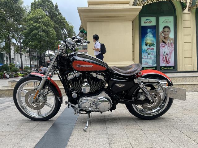_ Moi ve Xe HARLEY DAVIDSON Sportster Custom 1200 so suon 1 HD ban Nhap My HQCN Dang ky 122009 - 2