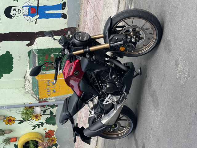 _ Moi ve xe HONDA CB300R ABS Do Den dang ky HQCN 92020 chinh chu odo 2500km xe dep nhu moi - 9