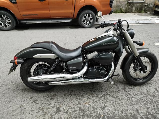 _ Moi ve Xe HONDA Shadow Phantom 750 Mau Den Mo HQCN Dang Ky 122015 chinh 1 chu odo 1300km - 8