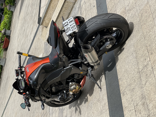 _ Moi ve xe Kawasaki Z1000 ABS Cam Den HQCN Date 52015 chinh chu odo 15200 km xe dep may zin - 6