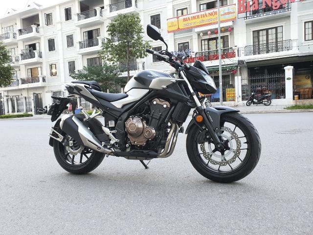 Ban xe Honda CB500F 2021 moi di duoc 400km - 3