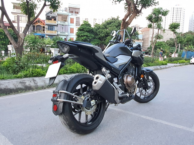 Ban xe Honda CB500F 2021 moi di duoc 400km - 7