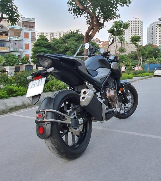 Ban xe Honda CB500F 2021 moi di duoc 400km - 8