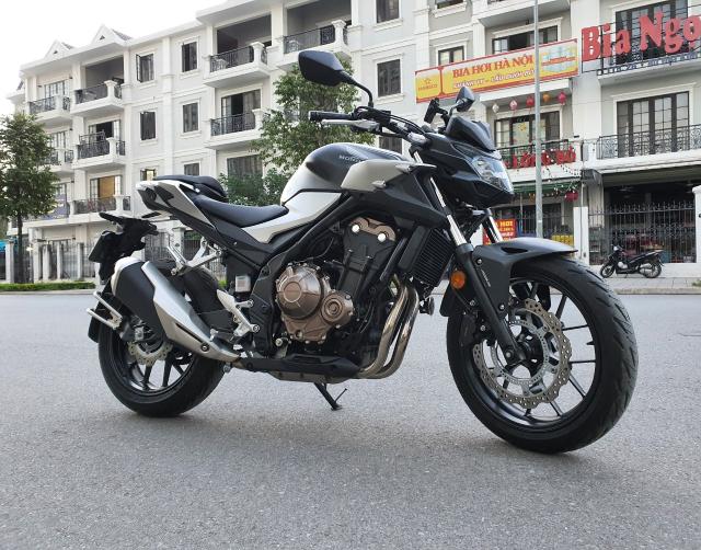 Ban xe Honda CB500F 2021 moi di duoc 400km - 4