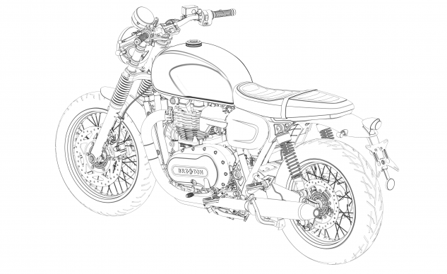 Brixton Motorcycles sap sua trinh lang doi thu nang ky danh cho Bonneville - 8