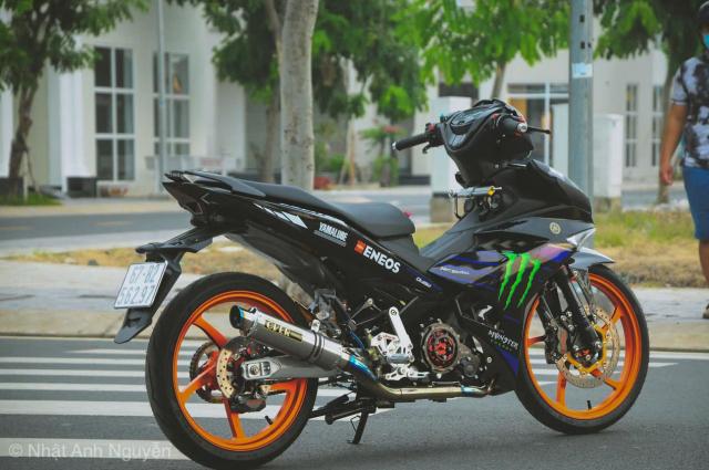 Exciter 150 do kinh khung cua biker Long Xuyen - 17