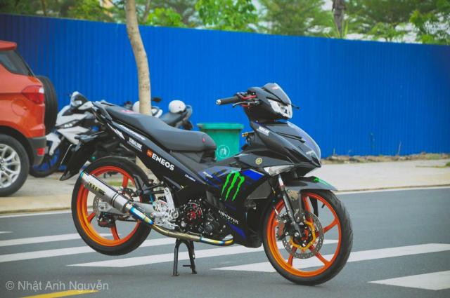 Exciter 150 do kinh khung cua biker Long Xuyen - 18