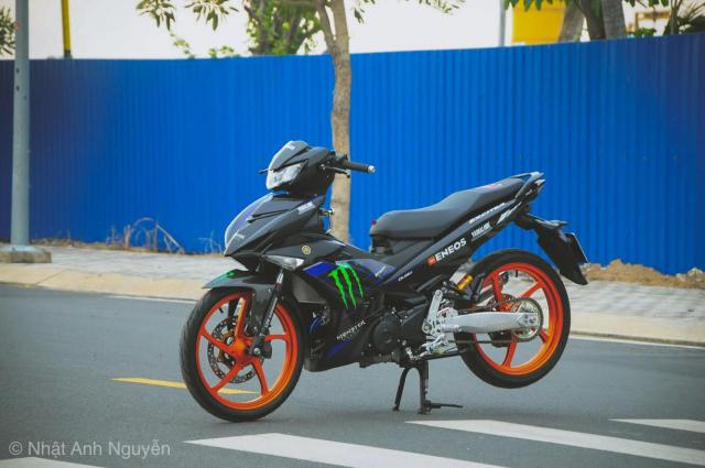 Exciter 150 do kinh khung cua biker Long Xuyen - 19