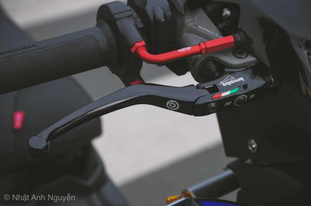 Exciter 150 do kinh khung cua biker Long Xuyen - 7