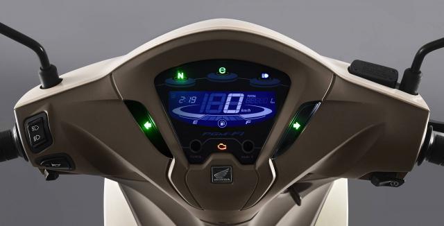 Honda Biz 2021 Mau xe so gia cuc man lai tap giua Future Led va Vision