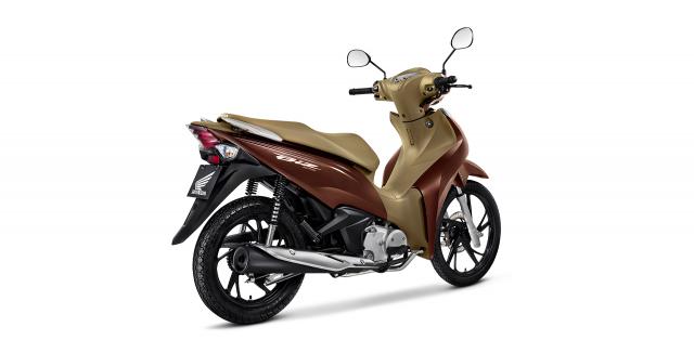 Honda Biz 2021 Mau xe so gia cuc man lai tap giua Future Led va Vision - 5