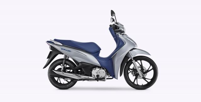 Honda Biz 2021 Mau xe so gia cuc man lai tap giua Future Led va Vision - 22