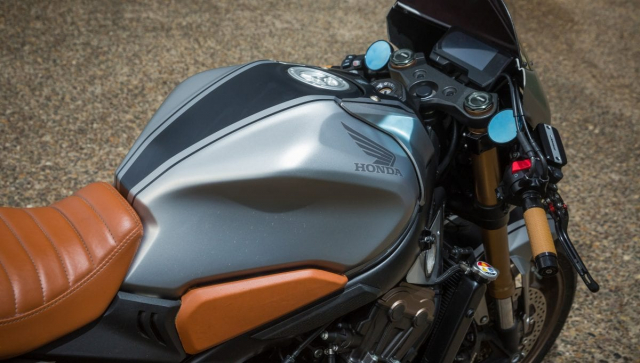 Honda CB650R do Cafe Racer tham gia su kien Wheels and Waves 2021 - 3