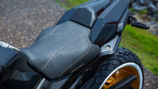 Honda CB650R do lay cam hung tu mau xe dap BMX ngo nghinh - 7