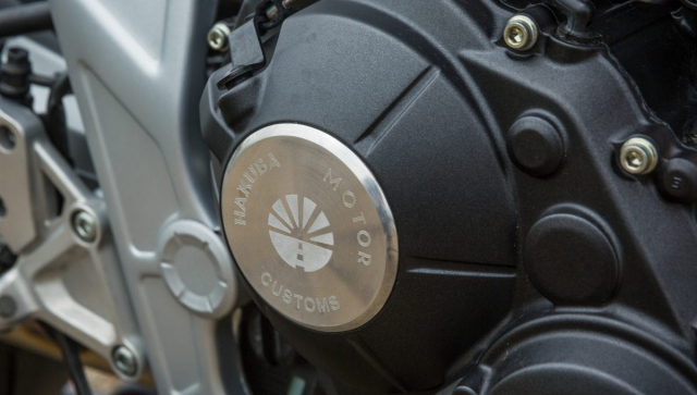 Honda CB650R do phong cach tan co dien cua Hakuba Motor - 5