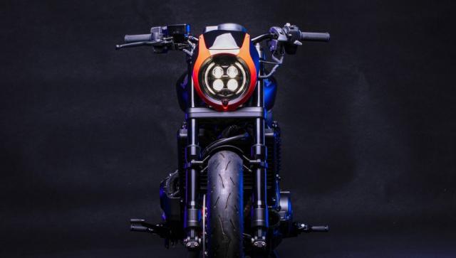 Honda Rebel 1100 do choang ngop voi 2 phong cach Sport va Bobber