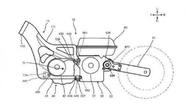 Lo bang sang che Yamaha dang phat trien TMAX Hybrid moi - 5