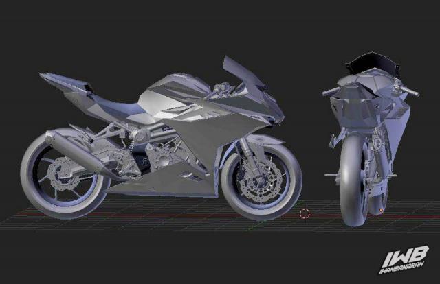 Lo thiet ke cua Honda CBR250RR 2022 ngau khong tuong - 7