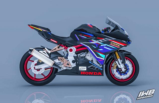 Lo thiet ke cua Honda CBR250RR 2022 ngau khong tuong - 9