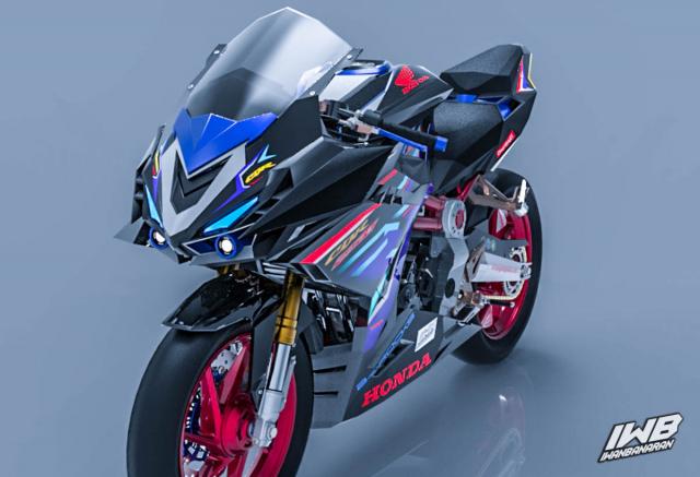 Lo thiet ke cua Honda CBR250RR 2022 ngau khong tuong - 11