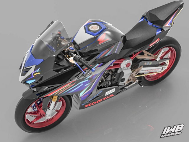 Lo thiet ke cua Honda CBR250RR 2022 ngau khong tuong - 15