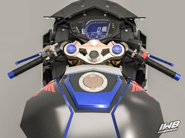 Lo thiet ke cua Honda CBR250RR 2022 ngau khong tuong - 17