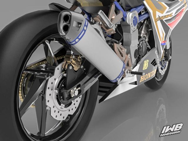 Lo thiet ke cua Honda CBR250RR 2022 ngau khong tuong - 21