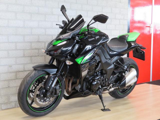 Kawasaki Z1000 ABS 2017 xanh den - 5