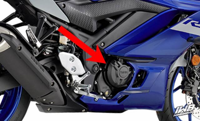 Yamaha R3 2022 va MT03 2022 tiet lo nhung thay doi moi - 7